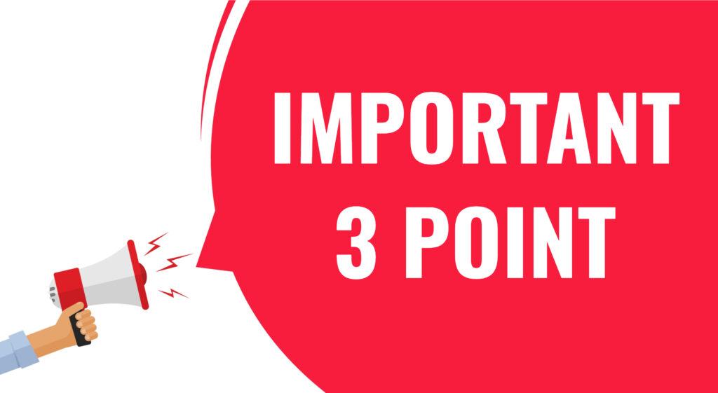 仕事が好転するポイント3つイラスト画像