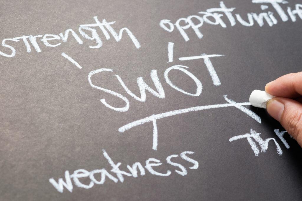 SWOT分析イメージ画像